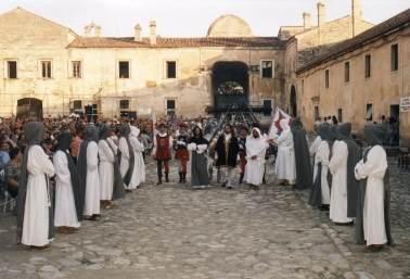 L'arrivo di Carlo V - Certosa di Padula