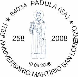 Padula - Annullo Filatelico
