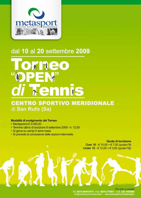 torneo open  maschile di tennis a san rufo