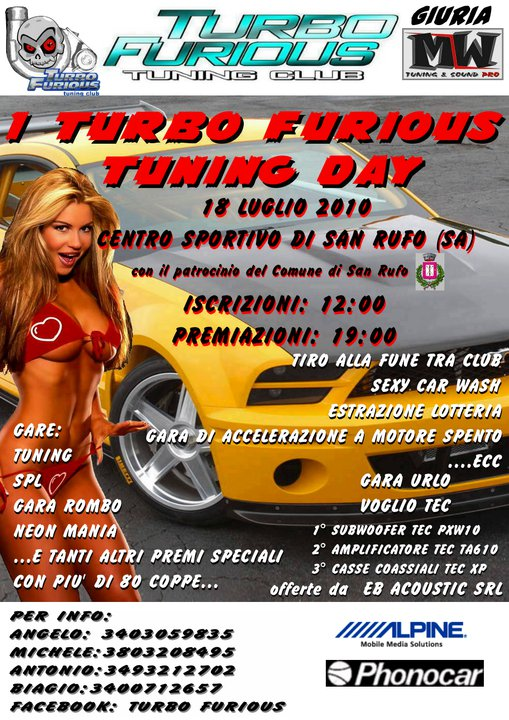 tuning day vallo di diano