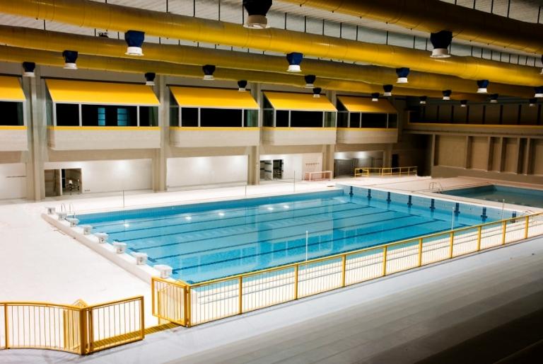 Il 22 settembre sar inaugurata la piscina coperta for Piani di piscina coperta